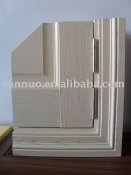 PVC overlaid MDF wrap door profile/door frame & Pvc Overlaid Mdf Wrap Door Profile/door Frame - Buy Mdf Moulding ...