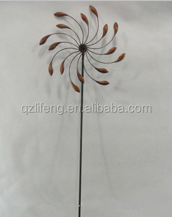 Outdoor Yard Lawn Stake Metal Windmill Garden Stake   Buy Windmill Garden  Stake,Metal Windmill Stake,Outdoor Yard Lawn Stake Product On Alibaba.com