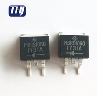 ELECTRONIC COMPONENTS & SUPPLIES 60V 10A Diode Schottky MBRB1060