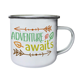 Wholesale Custom Logo Printing Outdoors Camping Mugs 12 oz. Enamelware Cup