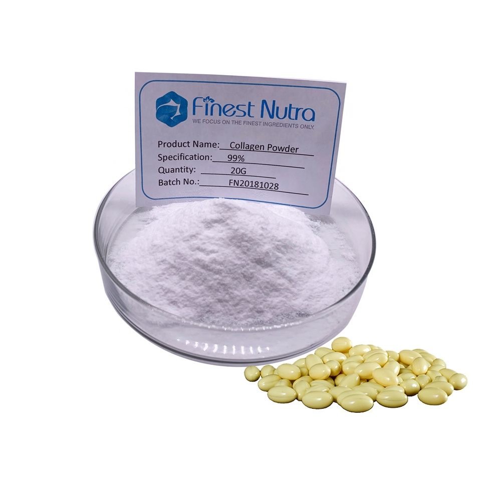 FINEST NUTRA supply high quality nano hydrolyzed collagen capsules