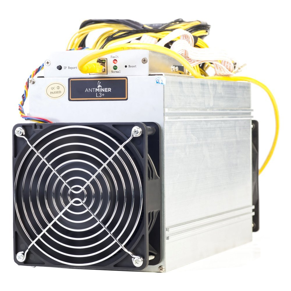 Stock Now For Bitmain Antminer L3+ Scrypt Litecoin LTC 504 Mh/s mining machine GameCredits