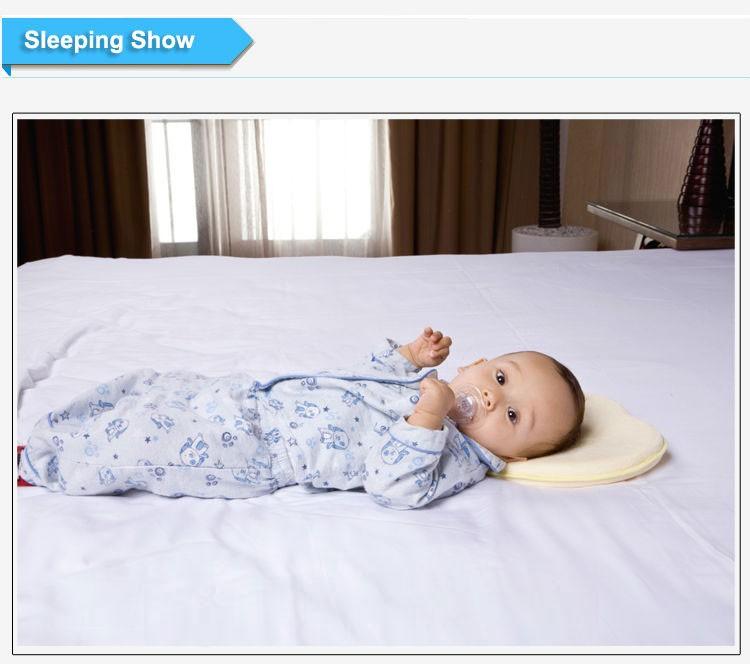 Orthopedic Flat Head Memory Foam Newborn Toddler Infant
