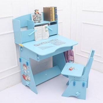 modern design children furniture adjustable wooden study table and
