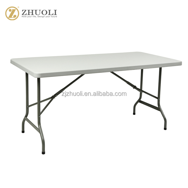 Folding Tables Rectangle Molded Plastic Outdoor Furniture