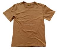 Combat plain military brown t shirt for men