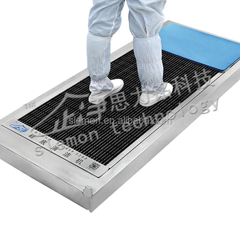 Clean Room Automatic Sole Cleaning Machine Instead Of Shoe Cover Covers Sticky Mat