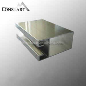 2015 Constmart upvc/pvc profile for door and window in plastic profiles stone texture aluminum composite panel