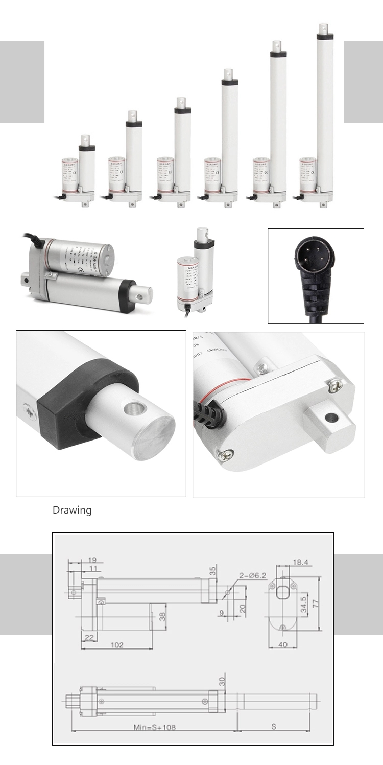 Permanent Magnet linear actuator