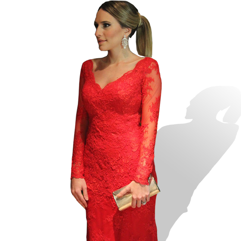 2fca83e7bd Cheap Red Lace Evening Gowns, find Red Lace Evening Gowns deals on ...