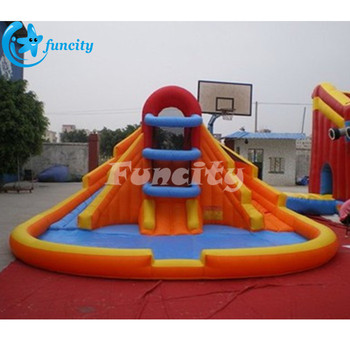3736e89f618 Giant Inflatable Water Slide with Water Pool