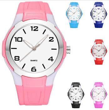 Waterproof Kids Watch Fashion Sports Geneva Digital Silicone Jelly Children Watches
