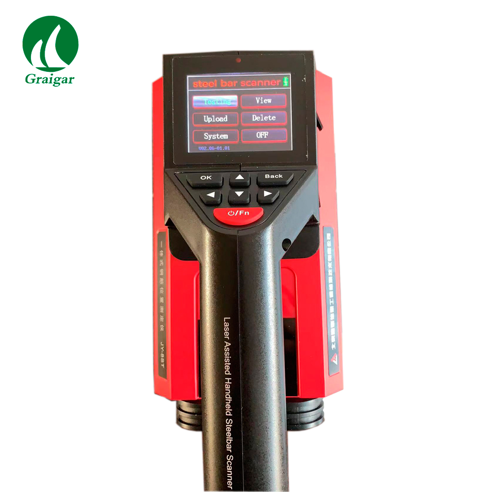 Discount New JY-8SK Nondestructive Laser Assisted Steel Bar Scanner JY8SK Steel Bars Distance Tester by Fast Shipping