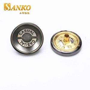 simple style custom metal snap fasteners