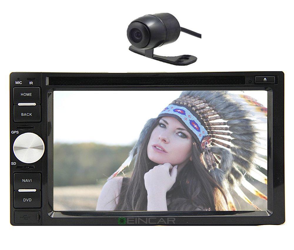 car kit gps navigation 2 din car stereo dvd player ipod radio bluetooth backup camera in car. Black Bedroom Furniture Sets. Home Design Ideas