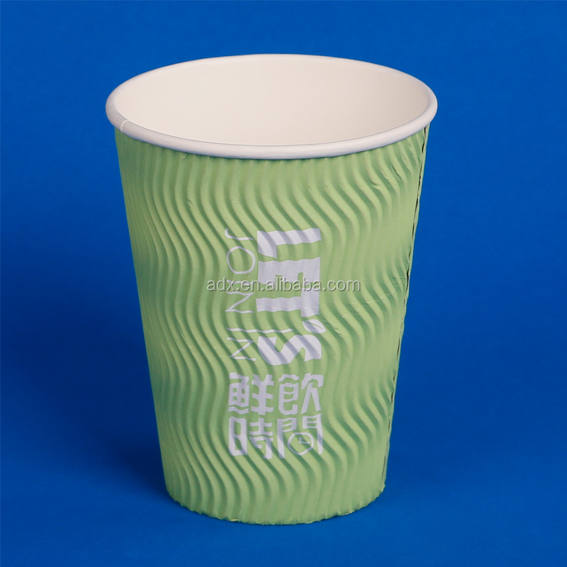 Exported Triple Wall Takeaway Paper Tea Water Cup