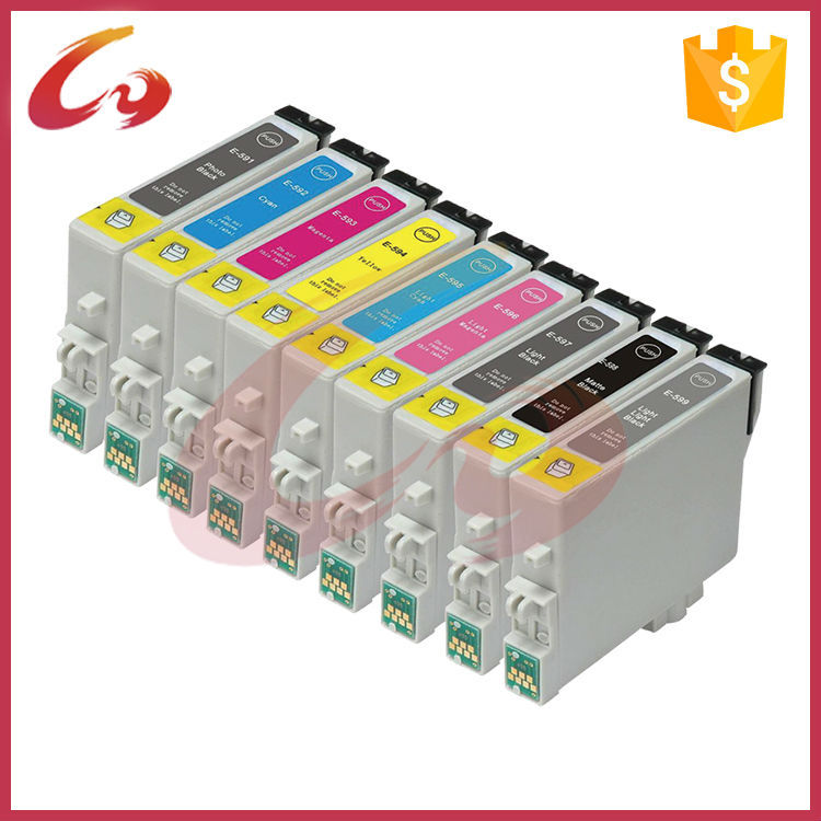 T0591 T0592 PBK/MBK 17ml Ink cartridge for Epson