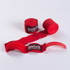 pro Mexican custom logo private labeling printing semi elastic nylon polyester 500cm boxing hand wraps