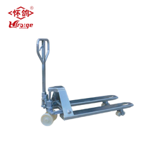 Heavy duty hydraulic jack hand fork lift with factory sale