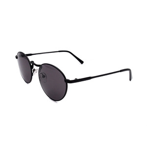 Cheap price high clear fashion circle full rim metal sunglass