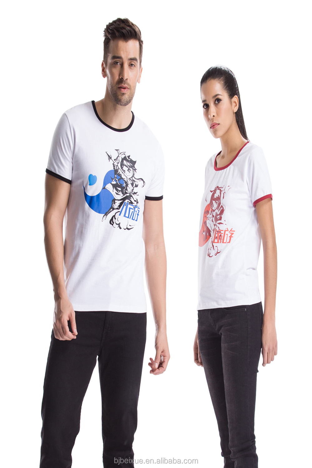 Couple t shirt design white - White Original Cute Couple Shirt Design For Lovers Design Factory