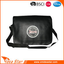 Man PU messenger bag manufacturing