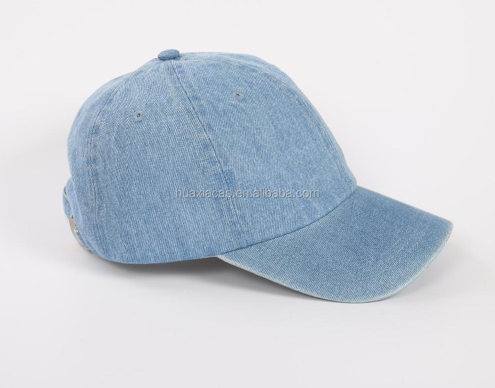 fast delivery denim baseball cap plain shipped american apparel ebay levi caps