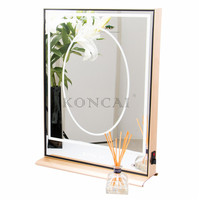 Koncai Jing Pin Makeup Mirror Stand With Lights