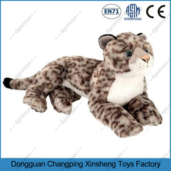 Soft Realistic Giant Plush Cheetah Animals Toy Stuffed Tiger Toy