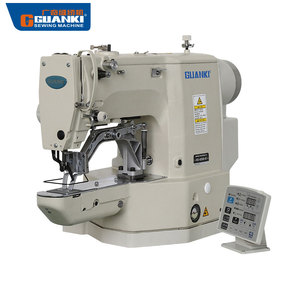 Good product GLK-430D industrial programmable bartack pattern sewing price from GUANKI sewing machine