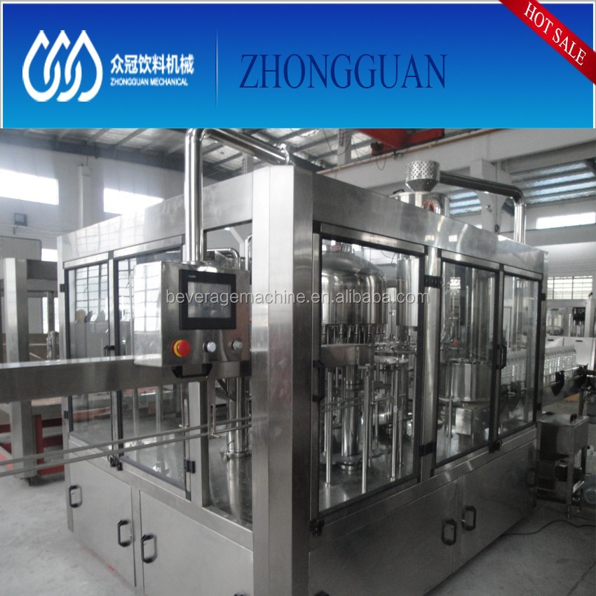 Good Reputation Supplier Pure Water Filling Botlling Machine
