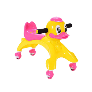 Wholesale plastic slide swing wiggle car funny baby car toy swing mute wheels happy swing car for baby