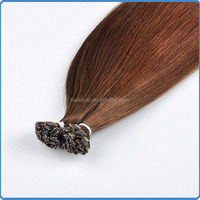 Full cuticle prebonded flat tip 1g/0.8g/0.5g single strand hair malaysian chocolate flat tip hair