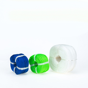 Customized Color 3 Strands Polyethylene Twine Plastic Spool PE Rope