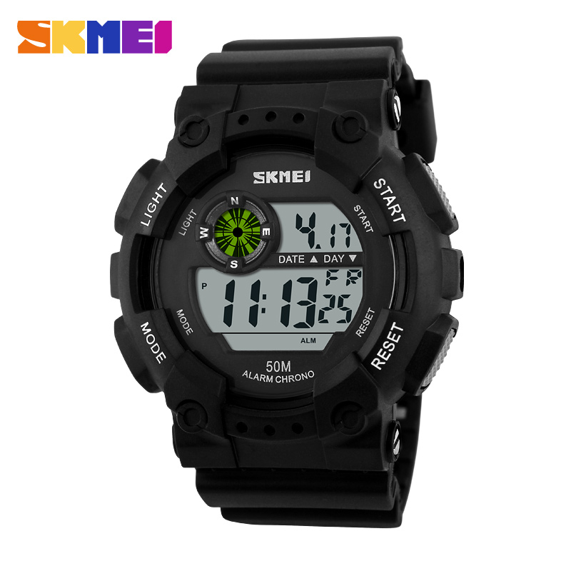 skmei digital original factory waterproof instructions manual watches for <strong>men</strong> 1011