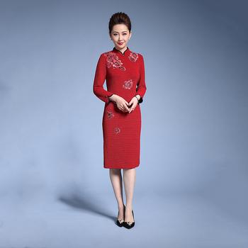 Traditionellen Cheongsam Chinesische Qipao Hochzeit Kleid - Buy ...