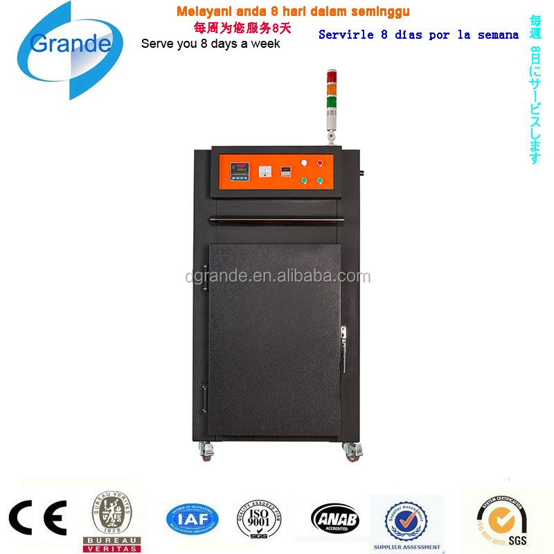 Electric power controlled industrial drying oven