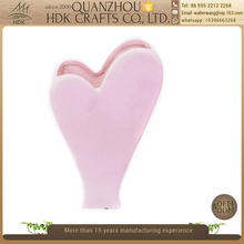 Factory direct sell heart shape decorative flower pots ceramic planter