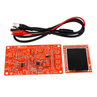 "DSO138 2.4"" TFT Handheld Pocket-size Digital Oscilloscope Kit DIY Parts SMD Soldered Electronic Learning Set 1Msps"