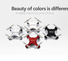 KidsToy Cheerson CX-10SE Mini RC UFO Drone with 2.4G RC 4CH 6 Axis Toys with LED Lights RTF RC Quadcopter