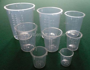 top quality medical measuring cups measuring beaker lab cups