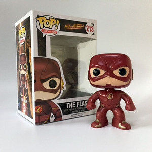 Factory Direct FUNKO POP The Flash anime carton toy action PVC Figure Superhero Funko pop packing box design superhero The Flash