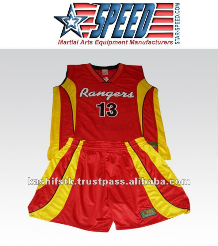 Customized Basket ball Uniforms