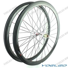 Light Weight YOELEO 700C 25MM Wide U-Shape Clincher 38MM With Carbon Wheels Road