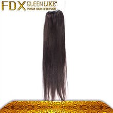 Remay Hair And Peruvian Human Hair Full Cuticle Micro Pre-bond Hair Weave