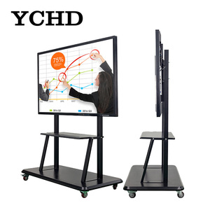 standard size electronic android whiteboard for classroom 55 inch