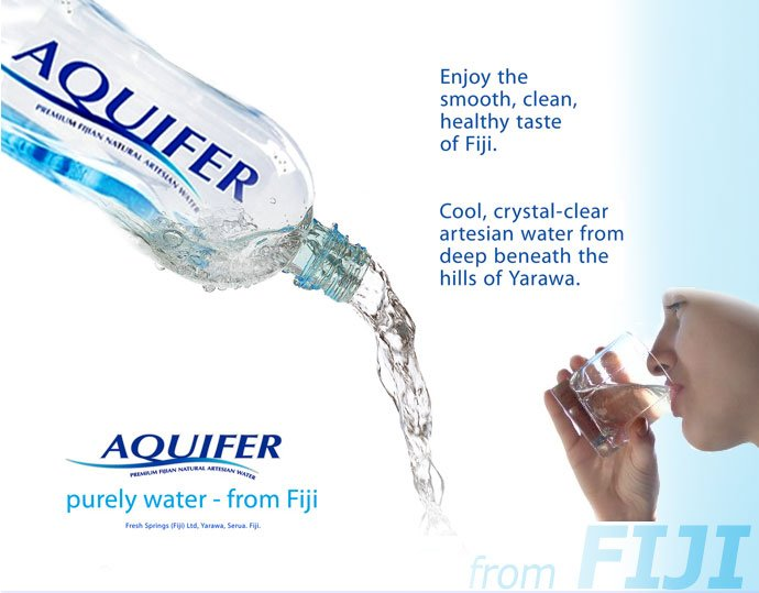 Natural Spring Mineral Water from Fiji