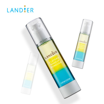 Private label Best face care Deep Cleansing Rainbow Makeup remover oil