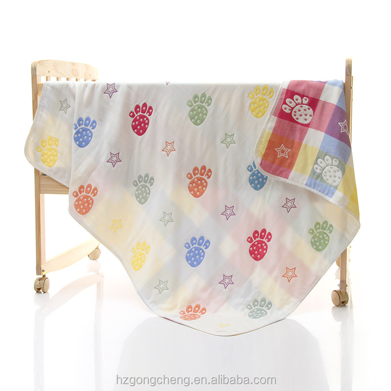 Wholesale Mushroom Printing Woven Gauze Cotton Baby Wrap Quilt,Muslin  Swaddle Blanket,Baby Bath Towel - Buy Gauze Cotton Baby Blanket,Gauze Baby