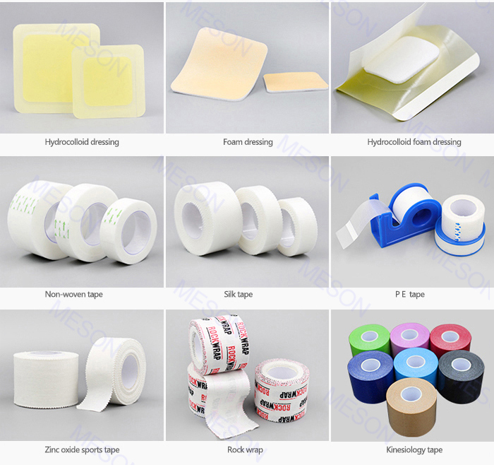 Free Sample Disposable Non Woven Adhesive Wound Dressing